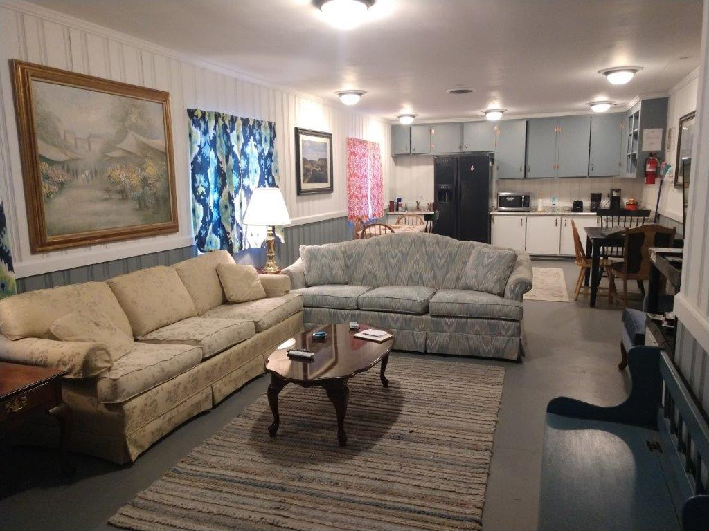 Living Room of one of our Residential units